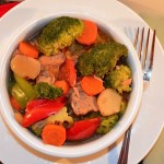 Gingered Pork-Vegetable Stew