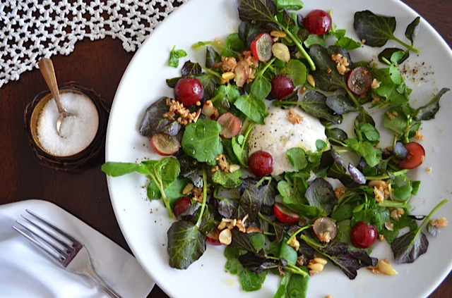 Grape-Watercress-Salad-wCaraway-Granola
