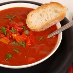 Roasted Tomato Soup with Garlic
