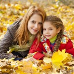 Staying calm through the holidays, mother, fall, mom and daughter