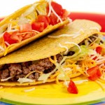 Spicy Beef and Sausage Tacos