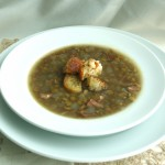 Split Pea Soup with Smoked Ham