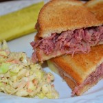 Day After St.Patty's Day: Gooey Grilled Corned Beef Sandwiches