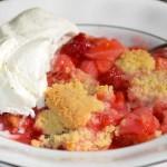 Rhubarberry Crumble