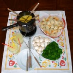 Speedy Cheesy Fondue
