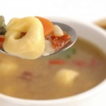 Jiffy Japanese Tortellini Soup