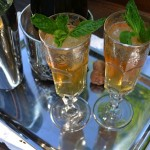 Mint Julep Champagne Cocktail
