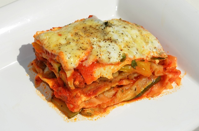 Roasted Ratatouille Lasagna Napoleons Recipes — Dishmaps