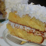 Simplified Coconut Cake