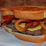 BBQ Patty Melt Burger