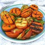 Grilled Potatoes w/Rosemary