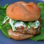 Thai-ish Pork Burgers