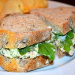 Tuna Salad on Olive Bread w/Arugula