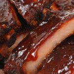 Grilled Baby Back Ribs w/Hot & Smoky BBQ Sauce