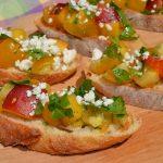 Arugula, Yellow Tomato, & Nectarine Salsa