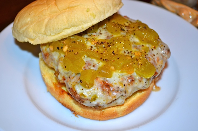Green Chile Turkey Burgers | Tips From Town