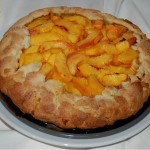 Rustic Honey-Peach Tart