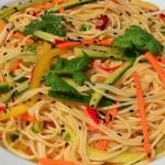 Cold Sesame Noodles w/Summer Veggies