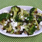 Grilled Broccoli w/Chipotle-Lime Butter & Queso Fresco