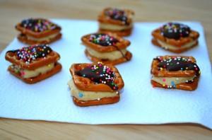 PB Cheesecake Pretzel Bites