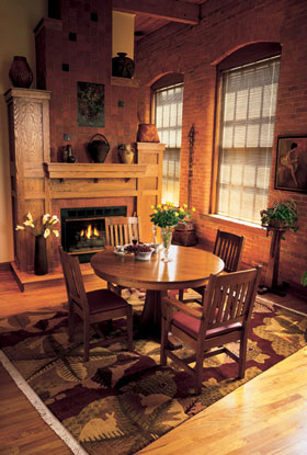 The Stickley Furniture Company, Known For The Arts And Crafts And Mission  Designs Of Founder Gustav Stickley, Which Are Sought After By Collectors,  ...