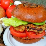 Veggie-Chicken Burgers