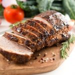 Pork Tenderloin w/ Maple Glaze