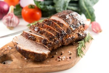 porkloin, maple glazed pork