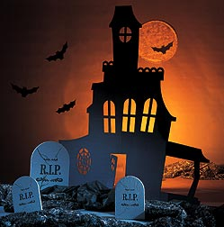 Diy haunted house party