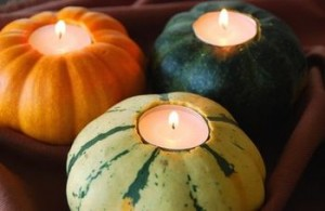 Rustic-Natural-Table-Setting-gourd-votives
