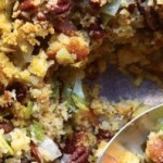 Bacon & Pecan Dressing Made with Cornbread