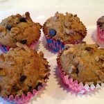 Chocolate Chip, Banana & Beneficial Bran Muffins