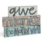 "Developing Your ""Attitude of Gratitude"""