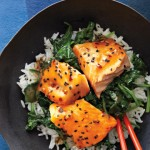 Asian Salmon Bowl w/Lime