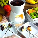 Family Dessert: Dark Chocolate Fondue