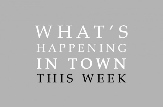 What's Happening in and Around Town