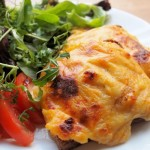 Irish Rarebit With Tomatoes