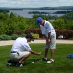 Teaching Golf to Kids