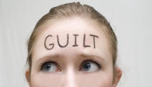 guilt, woman, maternal guilt