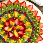 A Refreshing Fruit Pizza