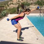 Move of the week, swim arms, arms, shoulders, back, core
