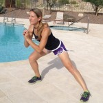 Move of the week, lateral lunge, side lunge, legs, glutes, balance, core