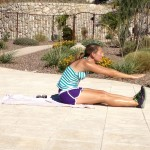 move of the week, exercise, Pilates Ab Roll, abdominals, core, stabilization, lower abs, tips from town