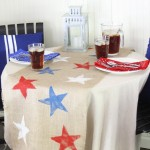 July 4th Table Settings 4th of july table