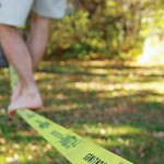 Backyard Tightrope: Setting up a Slackline