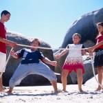 Family Beach Olympics