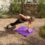 move of the week, exercise, Plank with 1 arm Row, back, arms, abdominals, core, stabilization, lower abs, plank, tips from town