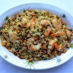 Shrimp & Hoppin' John Salad