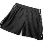 Unisex Youth Black Shorts with Piping 93% off!