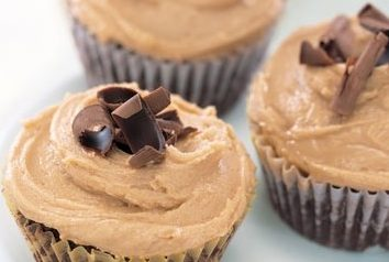 brownies, cupcakes, peanut butter, peanut butter icing, chocolate